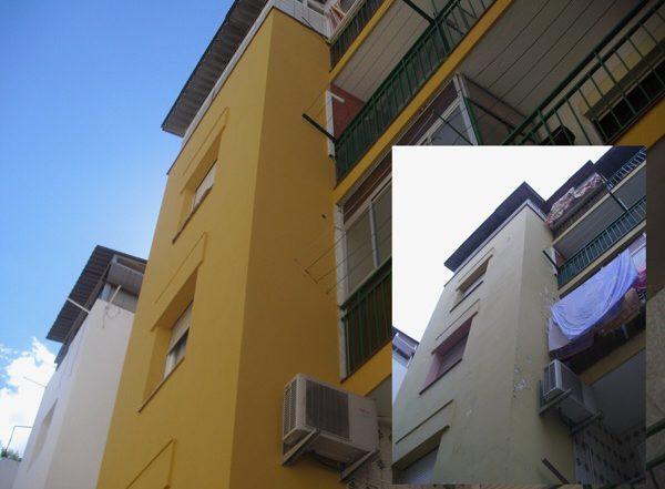 obras de fachadas y rehabilitación
