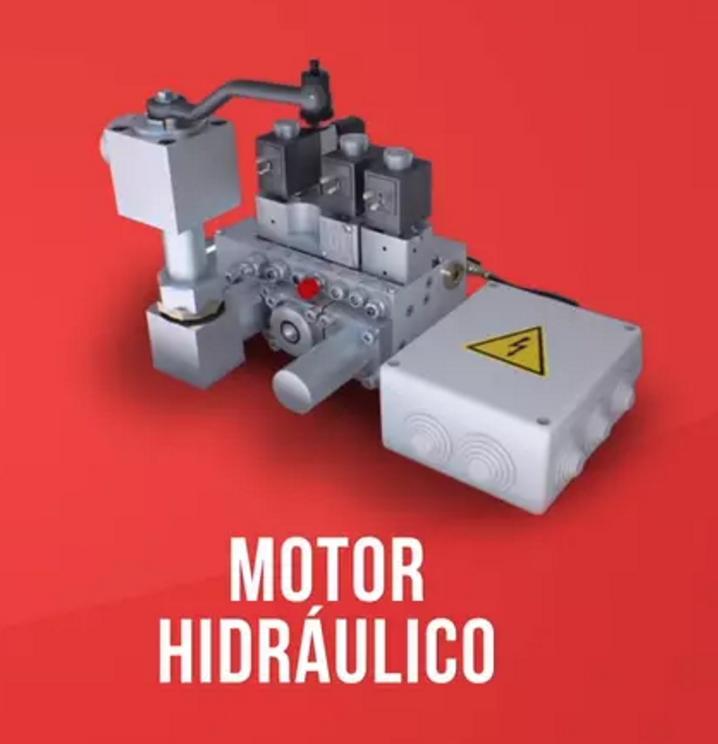 fotografia motor hidraulico
