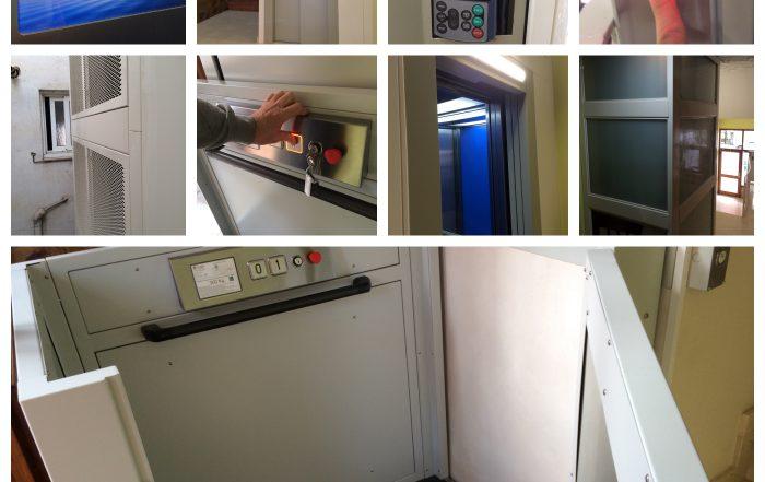 instalación de un ascensor y elevador Catalana Elevadors
